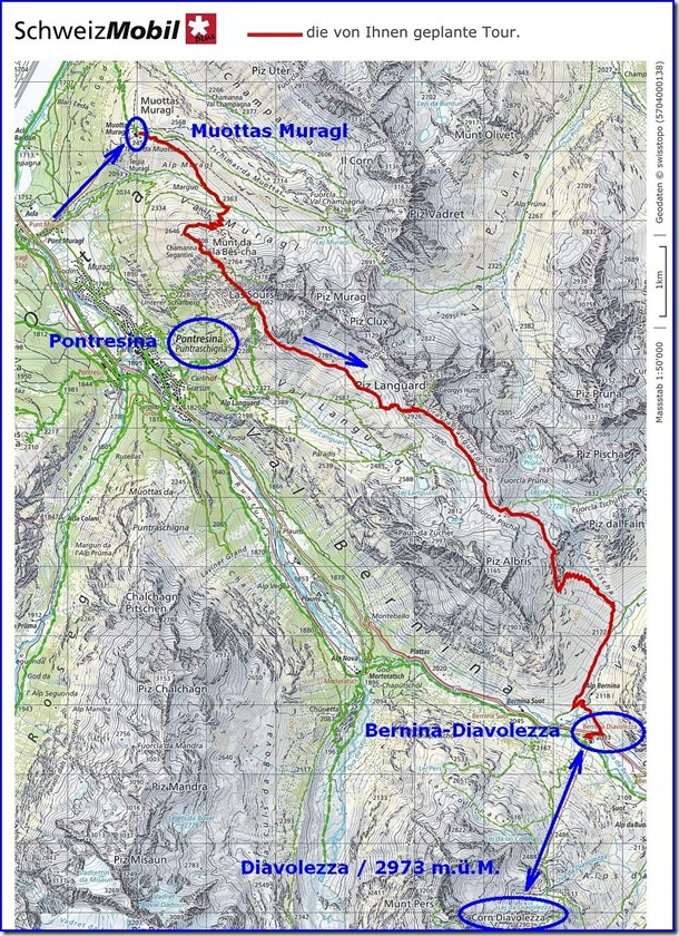 Karte Tag 2